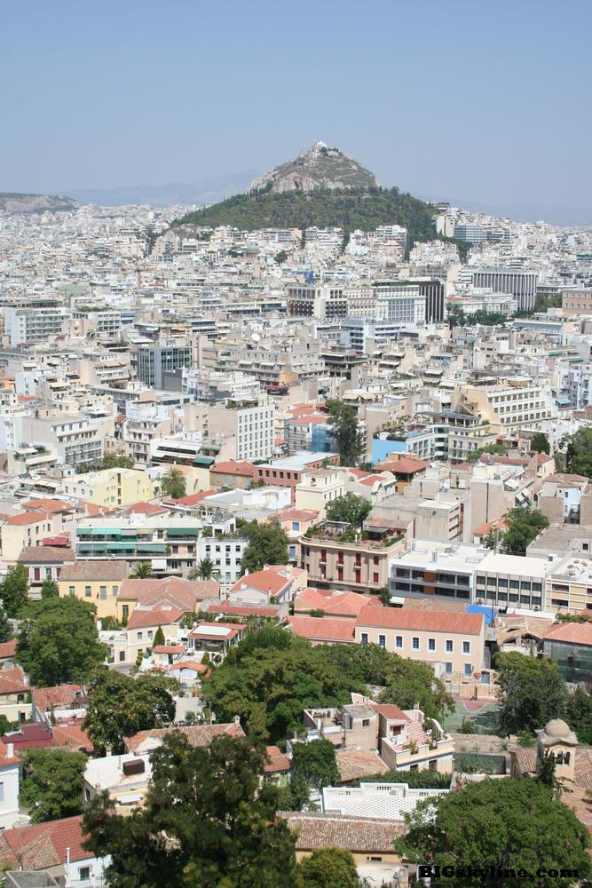 Athens Skyline in Greece