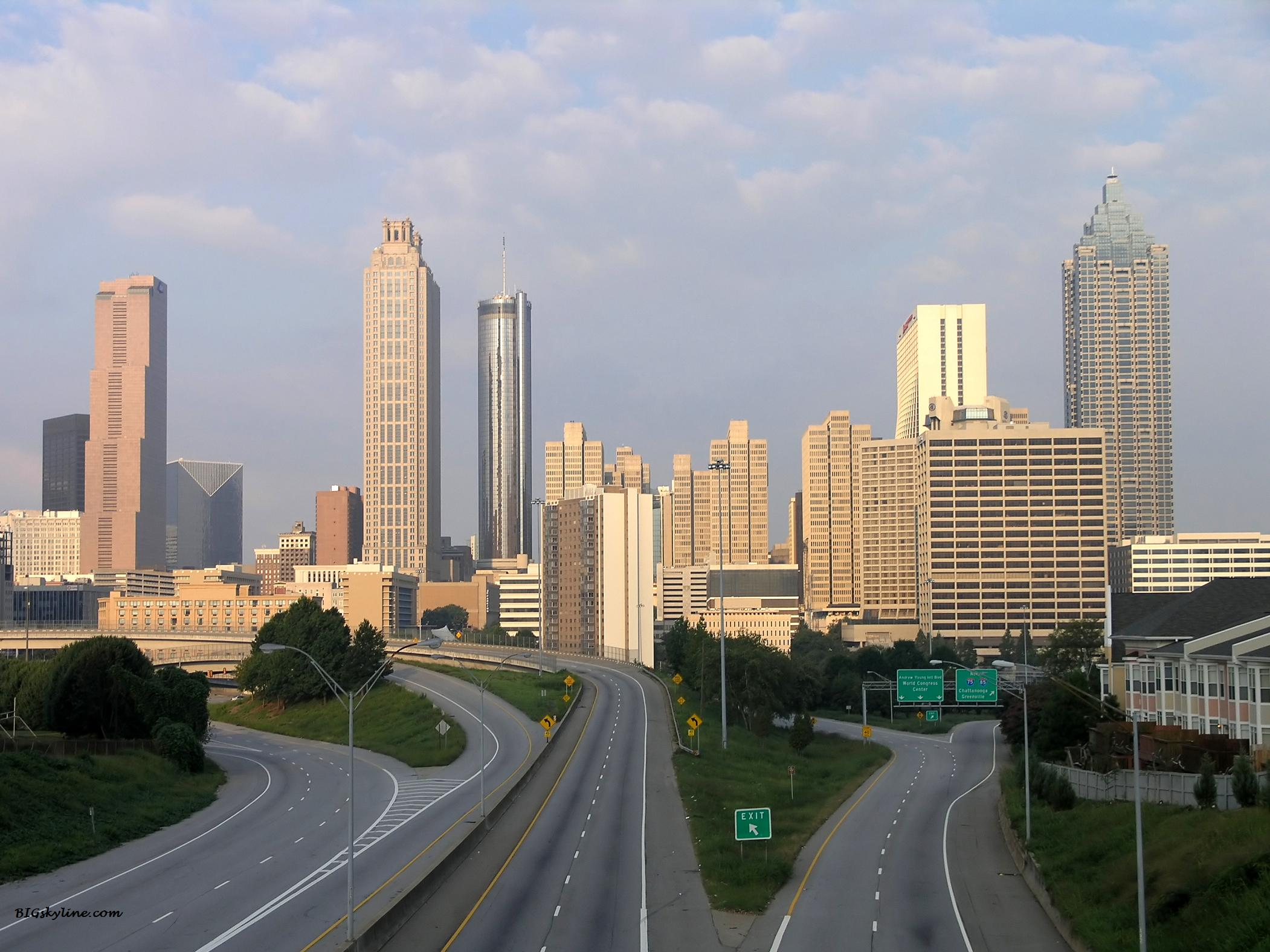 Atlanta skyline in Georgia, United States of America