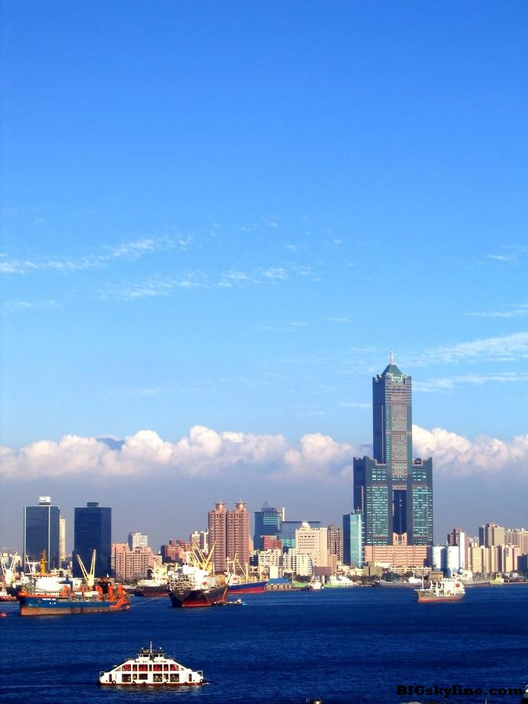Kaohsiung Skyline in Taiwan