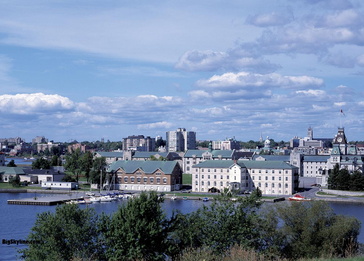 Photo of Kingston's skyline in Ontario