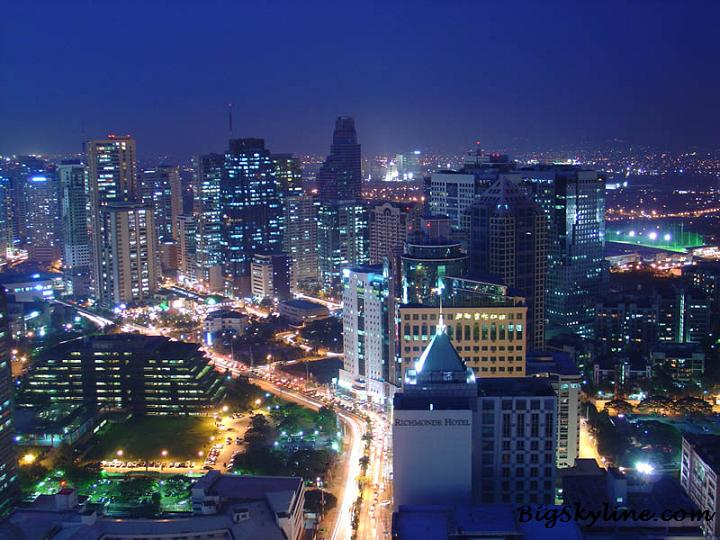 Photo of Manilas Skyline during the night