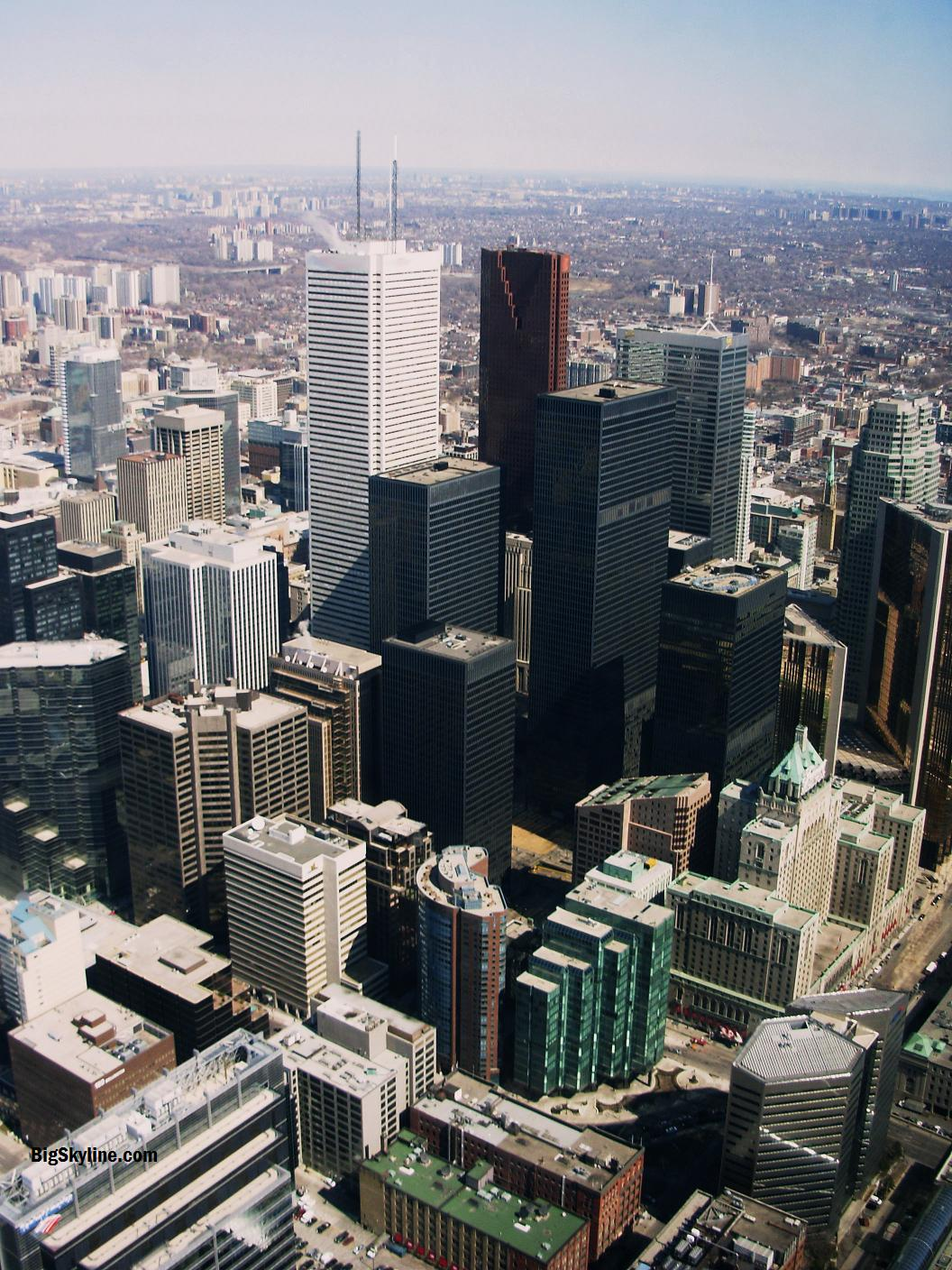 Photo of Toronto's Skyline from the air