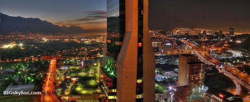 Photo of Monterrey at night