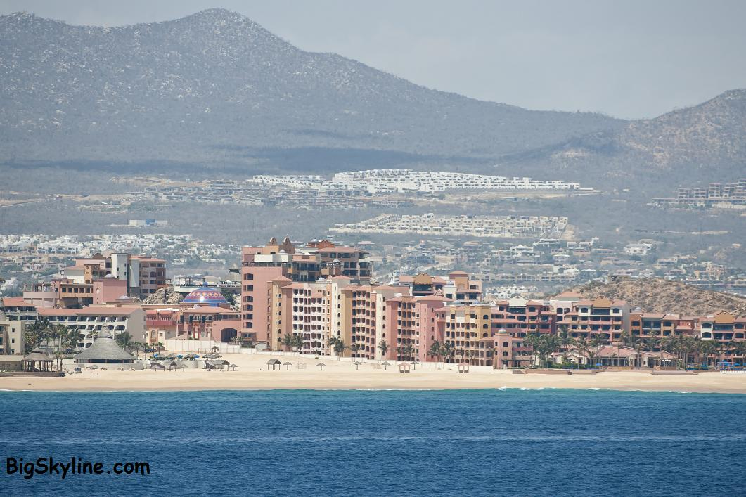 Cabo San Lucas City Skyline