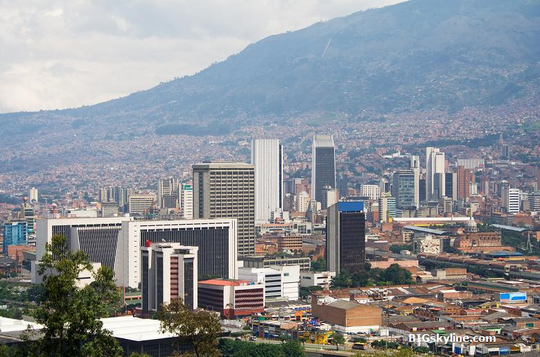 Skyline picture of Medellin