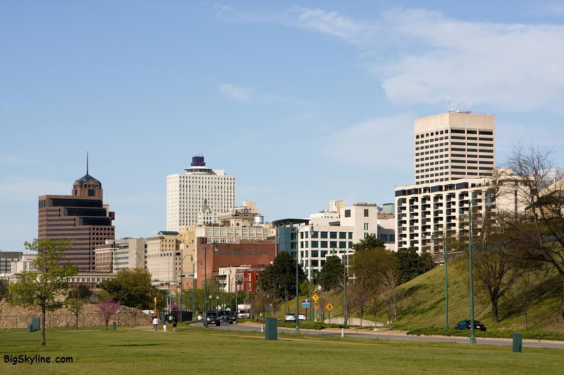 Photo of the City Skyline in Memphis, TN
